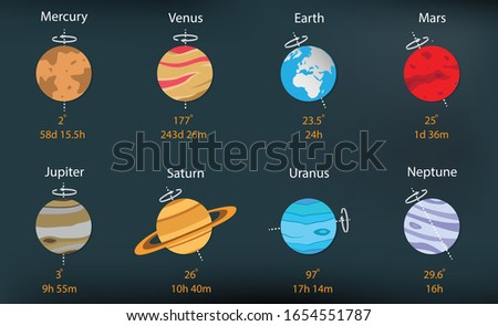 illustration of astronomy and