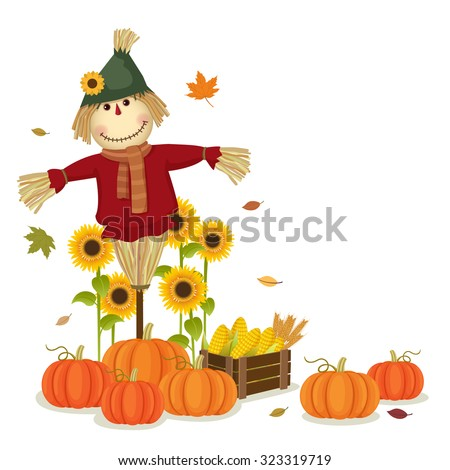 illustration of autumn