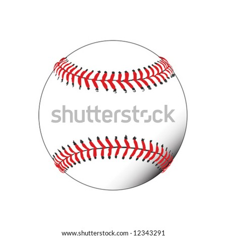 Illustration of baseball