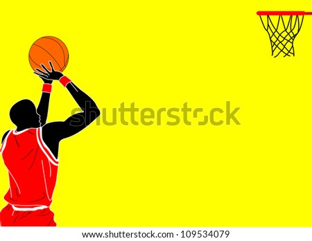 illustration of basket ball