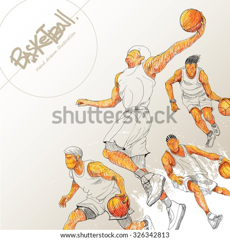 illustration of basketball