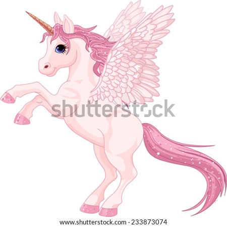 illustration of beautiful pink
