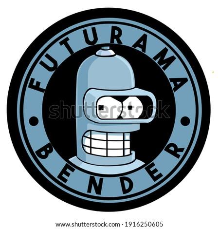 illustration of bender from