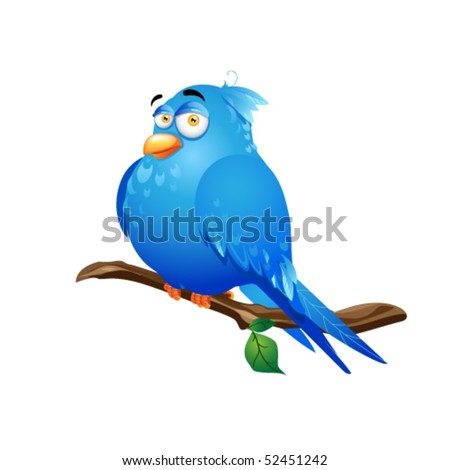 illustration of bird with white background