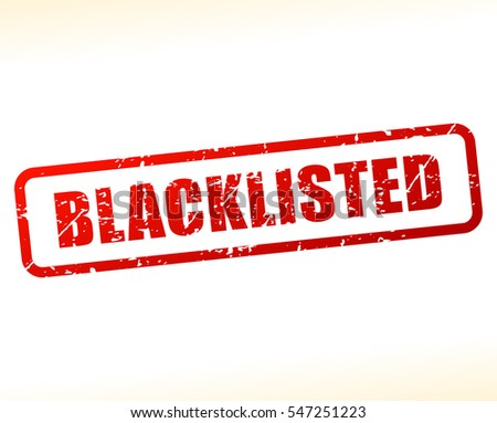 illustration of blacklisted