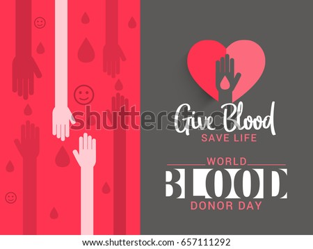 Blood donation vector free vector art at vecteezy illustration of blood donate concept for world blood donor dayposter or banner design template altavistaventures Image collections