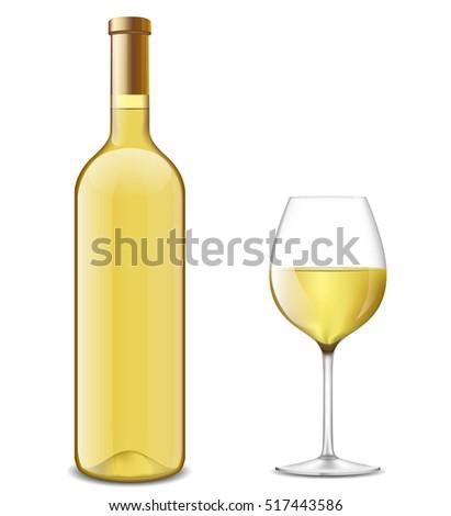 illustration of bottle and