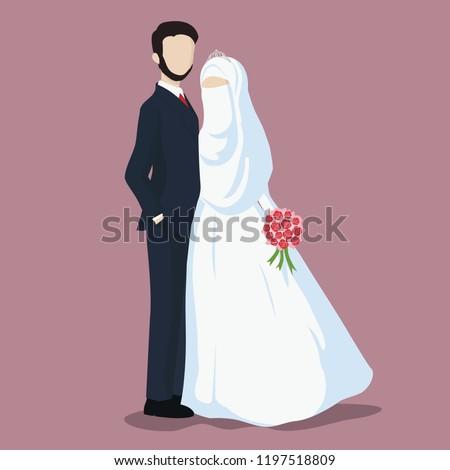 Muslim Wedding Free Vector Art 26 Free Downloads