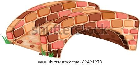 illustration of bridge on a