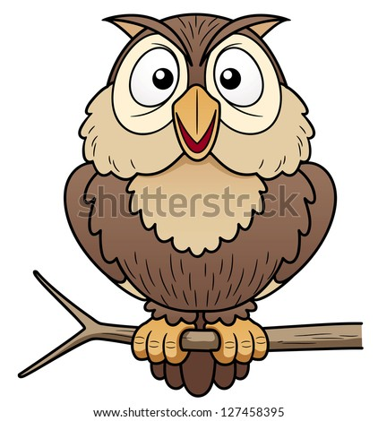 wise old owl clip art