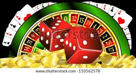 illustration of casino object