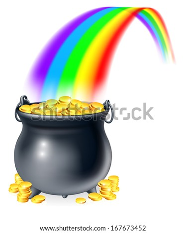 stock-vector-illustration-of-cauldron-or-a-black-pot-full-of-gold-coins-at-the-end-of-a-rainbow-pot-of-gold-at