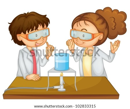 Children and science lab - Download Free Vector Art, Stock Graphics