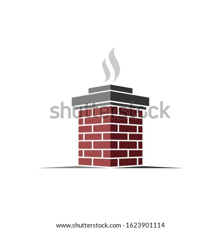 illustration of chimneys for