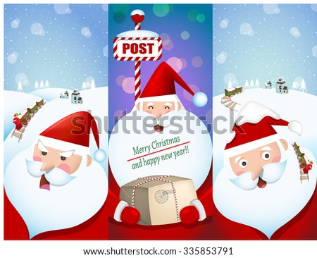 illustration of christmas and