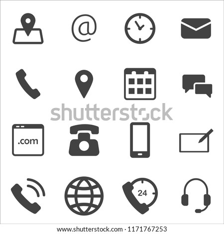 stock-vector-illustration-of-collection-of-different-icons-of-communication-communication-icon-vector-image-for