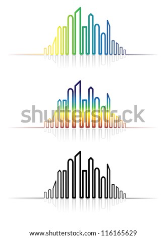 illustration of colorful