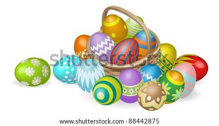 illustration of colourful