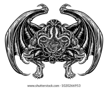 illustration of cthulhu mythos