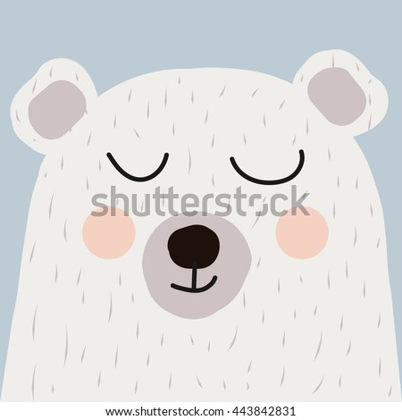 illustration of cute bear