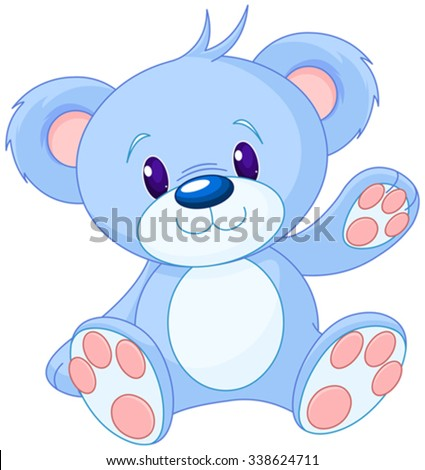 stock-vector-illustration-of-cute-toy-bear