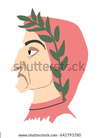 illustration of dante alighieri