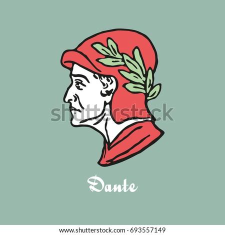 illustration of dante alighieri