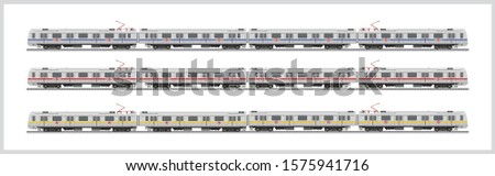 illustration of delhi metro train