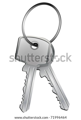 illustration of different kind of keys