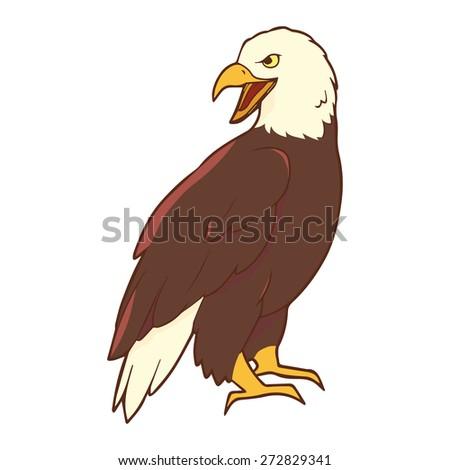 Illustration of eagle