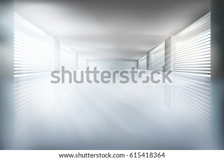illustration of empty interior