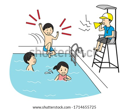 illustration of family members