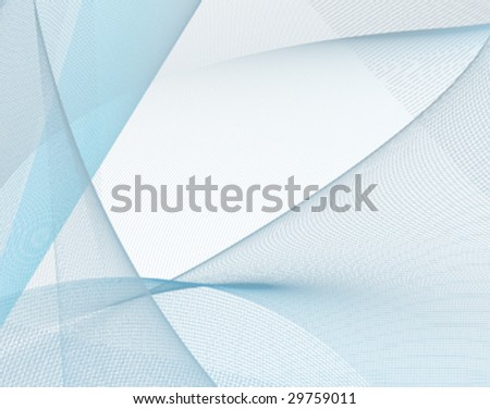 Illustration of  fine blue key lines forming an abstract background