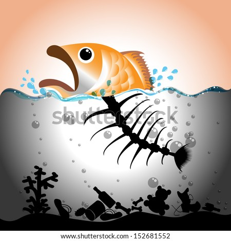 illustration of fish and fish