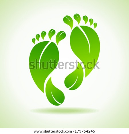 illustration of foot made by