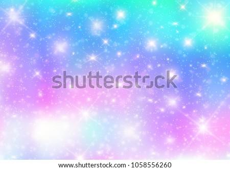 illustration of galaxy fantasy