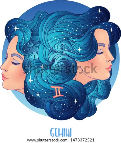 illustration of gemini