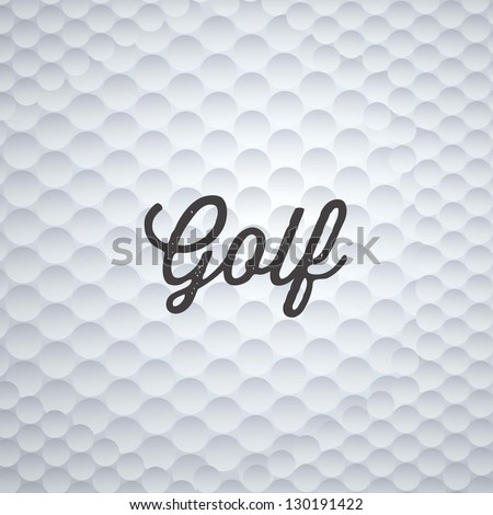Illustration of golf icons, illustrations of sports and games, vector illustration