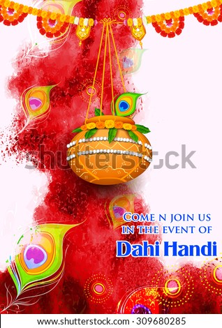 illustration of hanging dahi