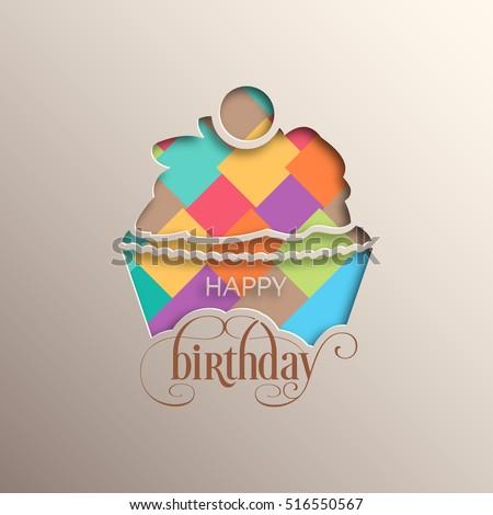 illustration of happy birthday