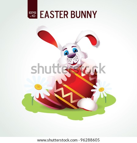 illustration of happy easter