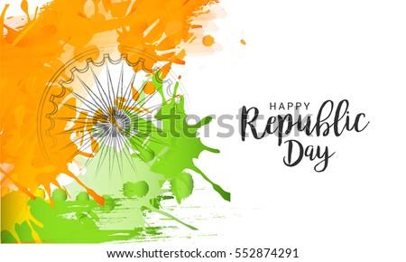 illustration of happy indian