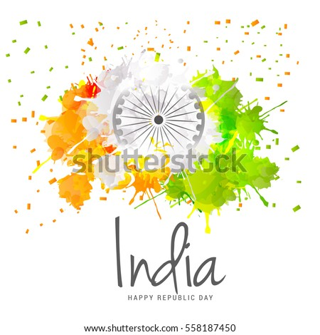 illustration of happy indian