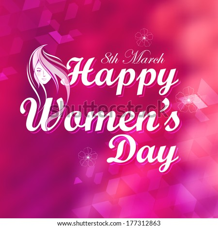 illustration of Happy Women's Day concept