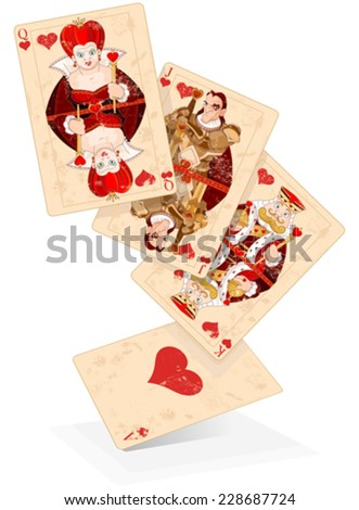 illustration of hearts plays