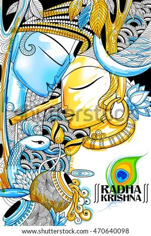 illustration of hindu goddess