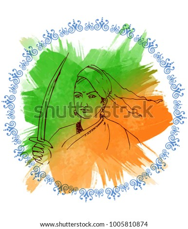 illustration of indian freedom