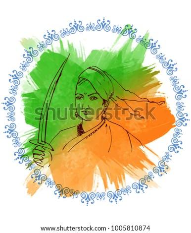 illustration of indian freedom
