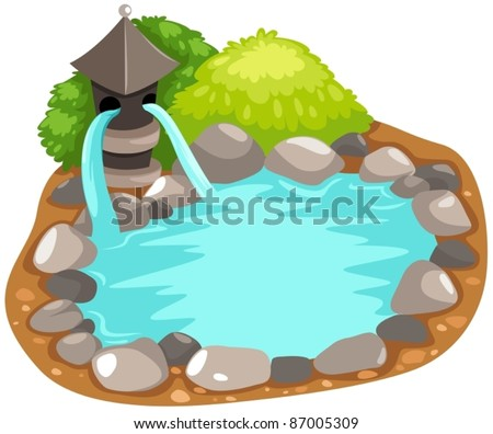 illustration of isolated