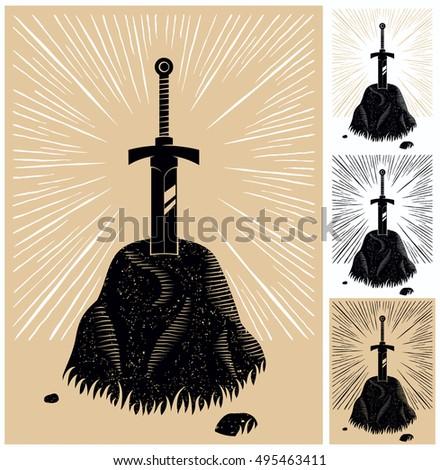 illustration of king arthurs